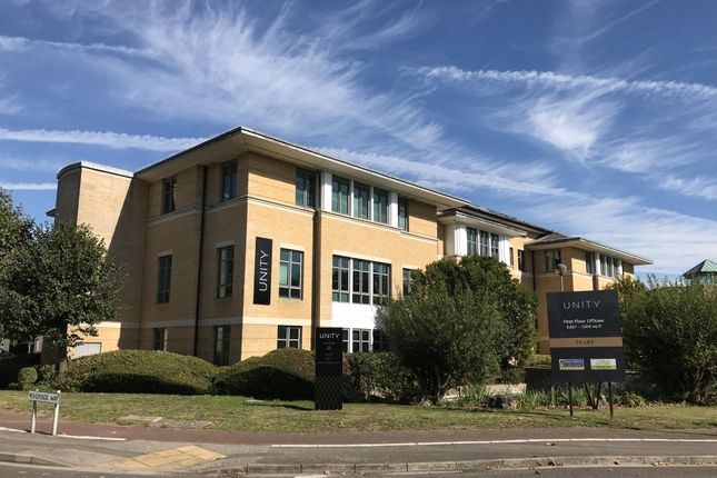 Office to let in Unity, Building A, Watchmoor Park, Camberley