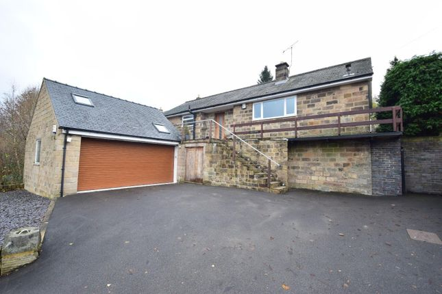 Thumbnail Detached bungalow for sale in Nottingham Road, Tansley, Matlock