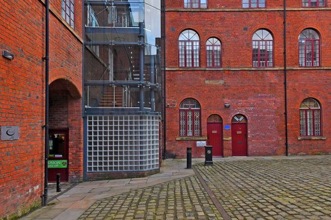 Courtyard of Butcher Works, Arundel Street, Sheffield S1