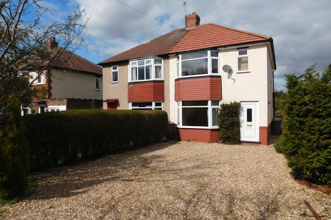 Thumbnail Semi-detached house to rent in Eakring Road, Mansfield