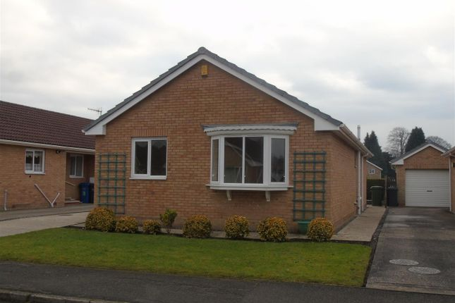Thumbnail Detached bungalow for sale in Rhodesia Road, Chesterfield