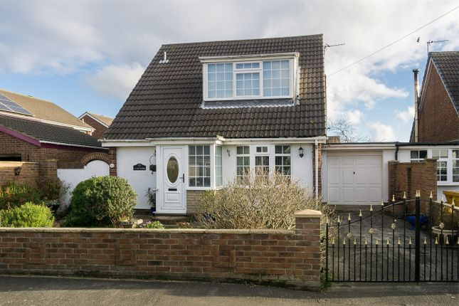 Thumbnail Detached bungalow for sale in Chellsway, Withernsea, East Riding Of Yorkshire