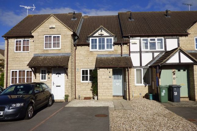Thumbnail Terraced house for sale in Waterside Close, Quedgeley, Gloucester