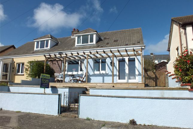 Thumbnail Semi-detached bungalow for sale in Trinity Place, Neyland, Milford Haven