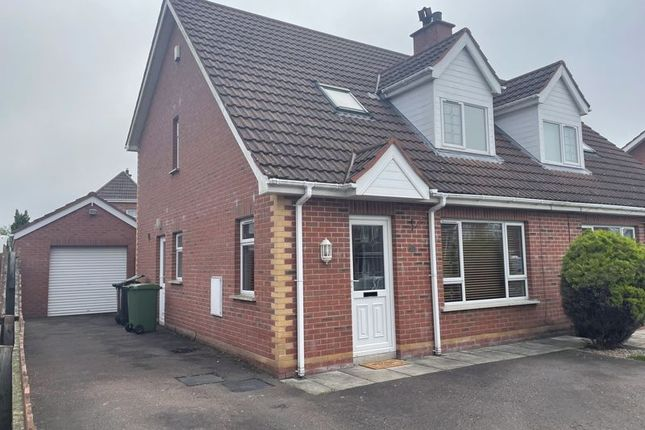 Thumbnail Semi-detached house for sale in Willow Lodge, Ballinderry Upper, Lisburn