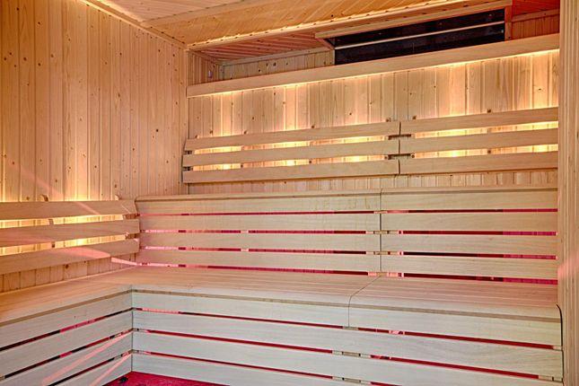 Sauna of 1 Riverlight Quay, Nine Elms, London SW11