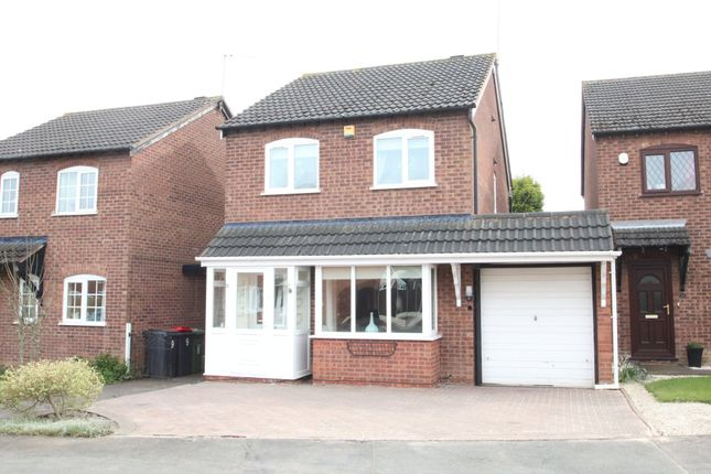 Thumbnail Detached house for sale in Kiln Way, Polesworth, Tamworth