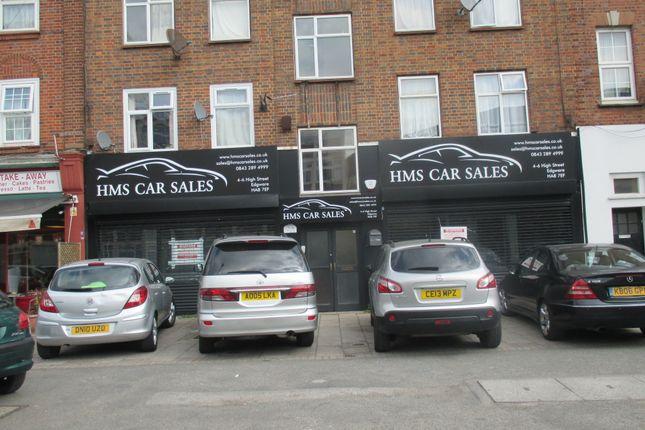 Thumbnail Retail premises to let in High Street, Edgware