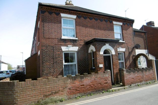 Thumbnail End terrace house to rent in Isaacs Road, Cobholm, Great Yarmouth