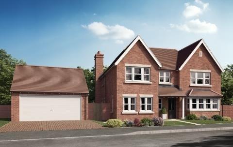 Thumbnail Detached house for sale in The Bratton, Bratton Grange, Telford