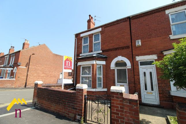 Thumbnail End terrace house for sale in Elmfield Road, Doncaster, Doncaster