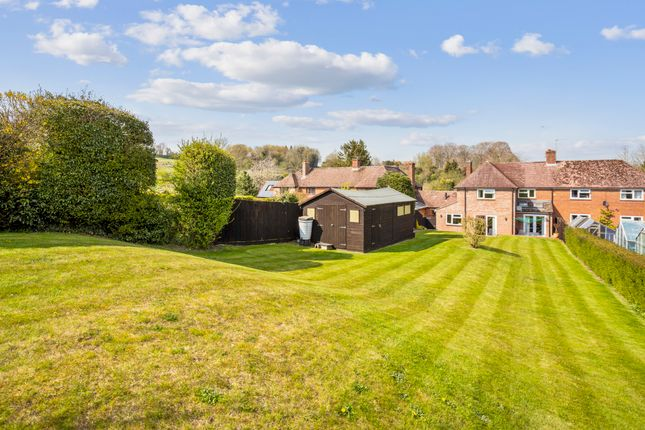 Thumbnail Semi-detached house for sale in Wexcombe, Marlborough