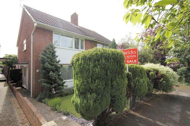 Thumbnail Semi-detached house for sale in Trent Walk, Fareham