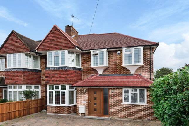 Thumbnail Semi-detached house to rent in Dickerage Road, Kingston Upon Thames