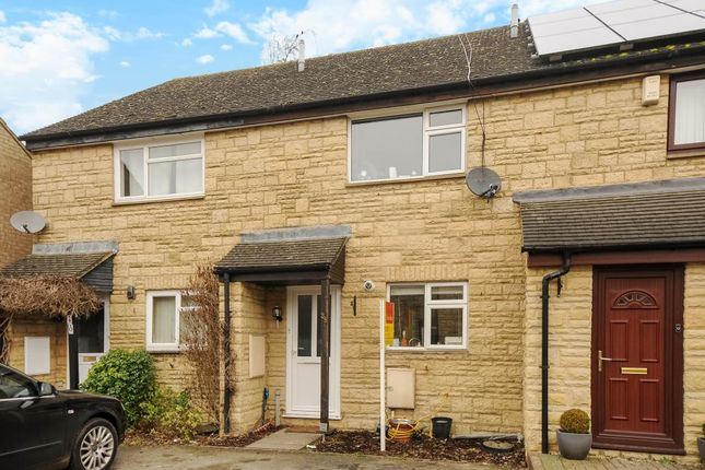 Thumbnail Terraced house to rent in Burwell Meadow, Witney