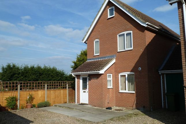 Thumbnail Link-detached house to rent in Rose Lane, Diss, Norfolk