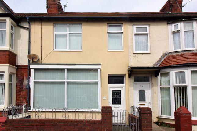 Thumbnail Terraced house for sale in Warrenhurst Road, Fleetwood