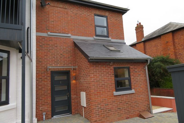 Thumbnail Semi-detached house to rent in The Lawns, Whitecross Road, Hereford
