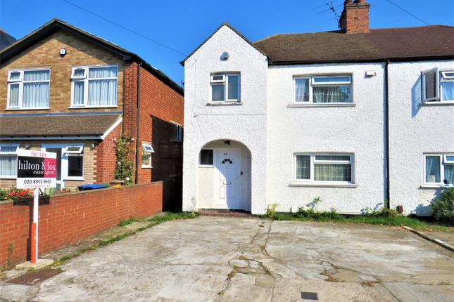 Thumbnail Semi-detached house for sale in Norton Road, Wembley, Middlesex