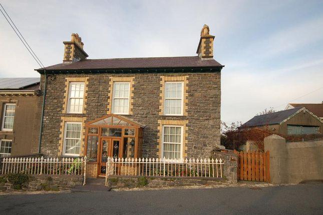 Thumbnail End terrace house for sale in Stryd Y Ysgol, Llanon, Aberystwyth