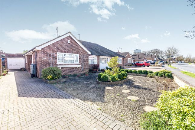 Thumbnail Semi-detached bungalow for sale in The Avenue, Hertford