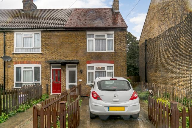 Thumbnail End terrace house for sale in Cornwallis Avenue, Gillingham, Medway