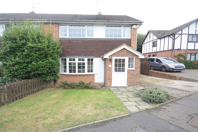 Thumbnail Semi-detached house to rent in Nightingale Road, Woodley, Reading