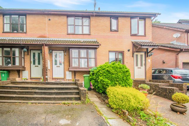 Thumbnail Terraced house for sale in Clover Court, Ty Canol, Cwmbran
