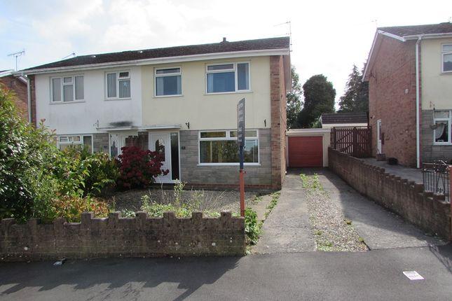 Thumbnail Semi-detached house for sale in Cefn Nant, Pencoed, Bridgend.