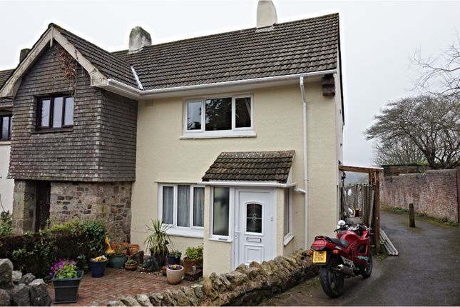 Thumbnail End terrace house for sale in College, Newton Abbot