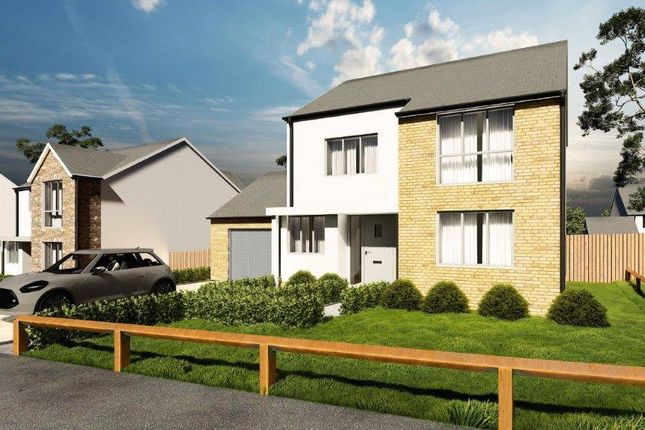 Thumbnail Detached house for sale in Florence Park, Florance Road, Callington, Cornwall