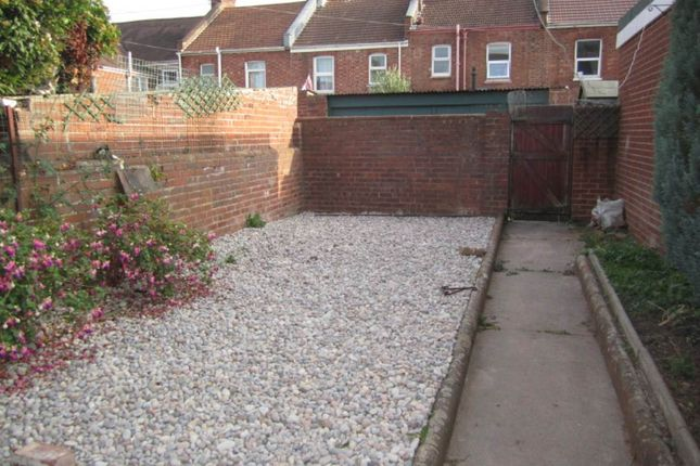 Garden of Monks Road, Exeter EX4