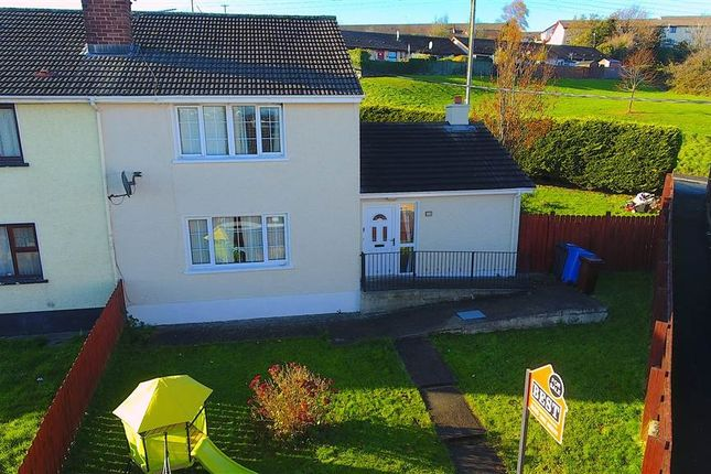Thumbnail End terrace house for sale in Barcroft Park, Newry