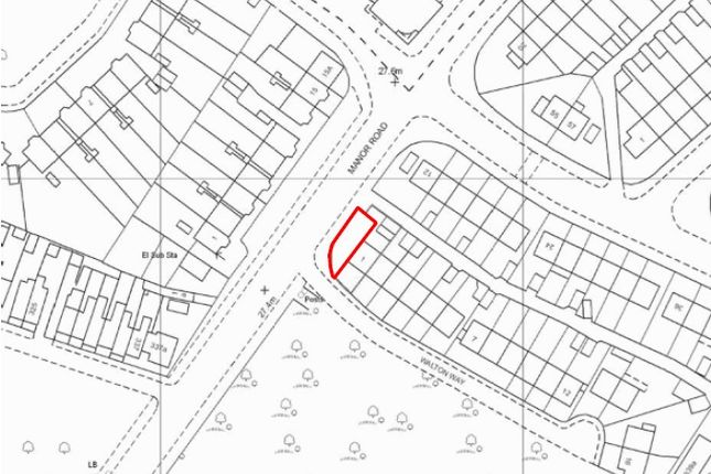 Thumbnail Leisure/hospitality for sale in Build Plot, Walton Way, Mitcham