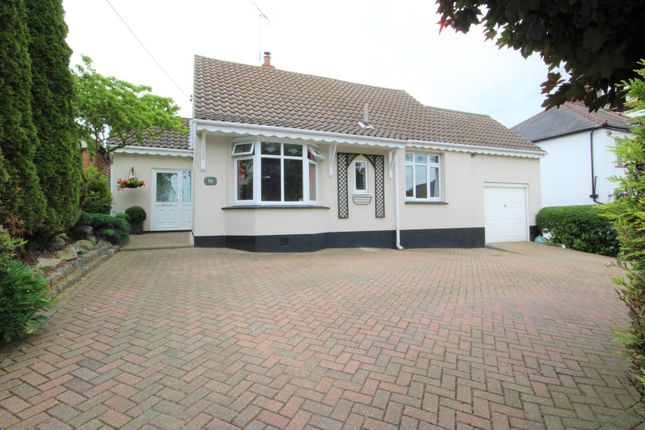 Thumbnail Detached bungalow for sale in Daws Heath Road, Rayleigh