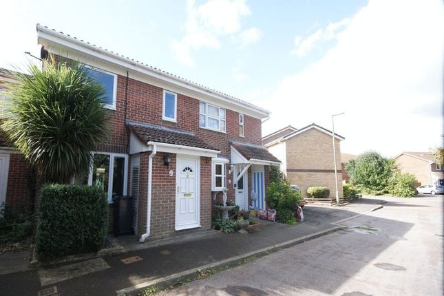 Thumbnail Terraced house for sale in Myrtle Close, Gosport