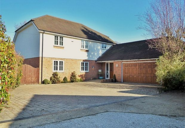 Thumbnail Detached house for sale in The Garth, Farnborough, Hampshire