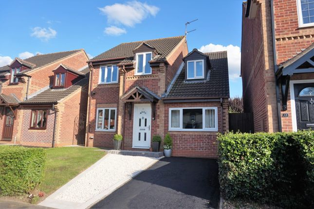 Thumbnail Detached house for sale in Stainmore Avenue, Leicester