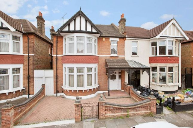 Thumbnail Semi-detached house for sale in Woodstock Gardens, Goodmayes, Ilford