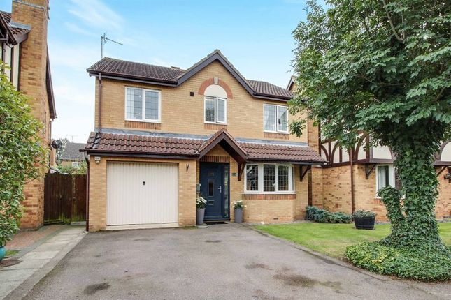 4 bed detached house for sale in Barringer Way, St. Neots