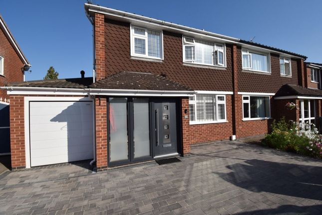 Thumbnail Semi-detached house for sale in Manderley Close, Eastern Green, Coventry