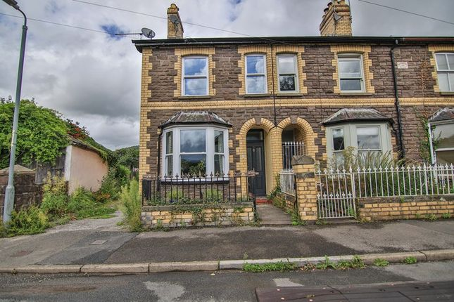 Thumbnail End terrace house for sale in Orchard Street, Abergavenny