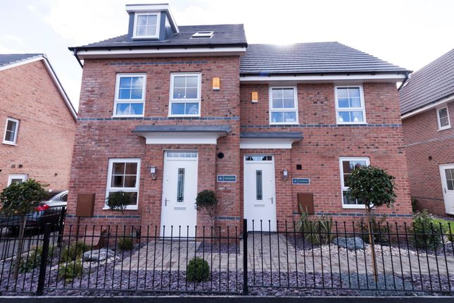 """Thumbnail Semi-detached house for sale in """"Rochester"""" at Acacia Way, Edwalton, Nottingham"""