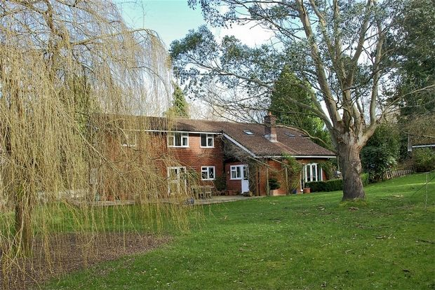 Thumbnail Detached house for sale in Tyrells Lane, Burley, Ringwood