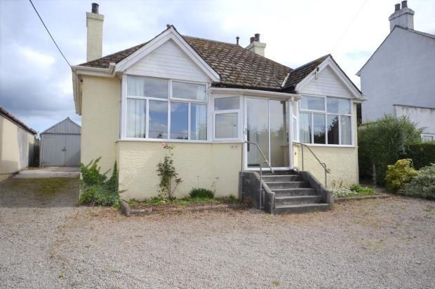 Thumbnail Detached bungalow for sale in Saltash Road, Callington, Cornwall