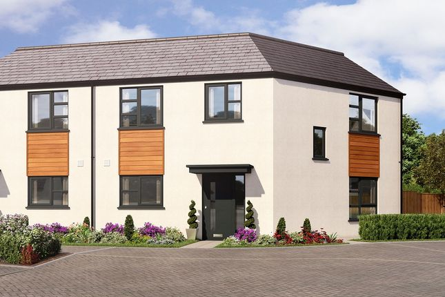 Thumbnail Semi-detached house for sale in Off Tithebarn Lane, Pinhoe, Exeter
