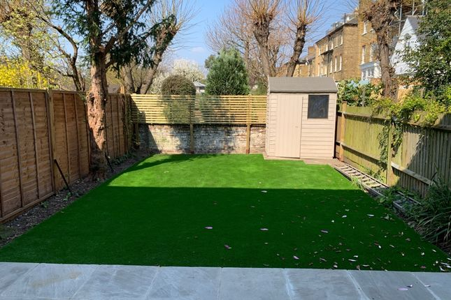Garden of Macaulay Road, London SW4
