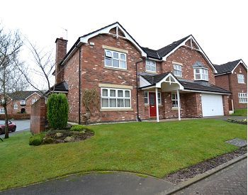 Thumbnail Detached house for sale in Walton Heath Drive, Tytherington, Macclesfield, Cheshire