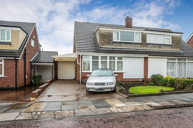 Thumbnail Semi-detached house for sale in Grange Farm Drive, Whickham, Newcastle Upon Tyne