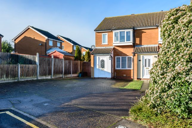 Thumbnail Detached house for sale in Barker Close, Lawford, Manningtree